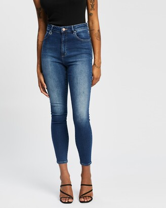 Neuw Women's Blue Skinny - Marilyn Skinny Jeans - Size 26 at The Iconic