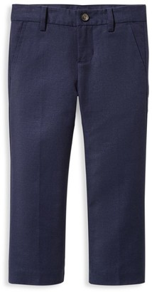 Janie and Jack Baby's, Little Boy's & Boy's Linen-Blend Straight Pants