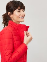Joules Linden Short Padded Jacket - Red