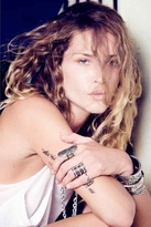 Low Luv x Erin Wasson by Erin Wasson Carved Aztec Ring in Silver