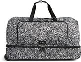 Vera Bradley Lighten Up Large Wheeled Duffel Bag
