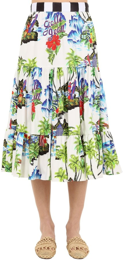 fe81a8f3b5 Stella Jean White Skirts - ShopStyle