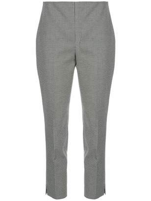 Polo Ralph Lauren houndstooth cropped trousers