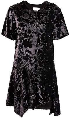 Koché Lace t-shirt dress