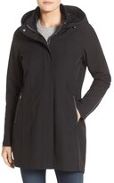 Kristen Blake Water Repellent Hooded Soft Shell Jacket