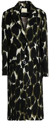 By Malene Birger Printed Cotton-blend Jacquard Coat