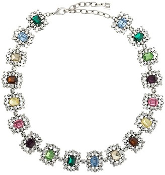 Dannijo Paloma glass-embellished necklace