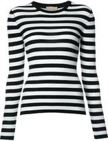 Michael Kors striped jumper - women - Cashmere - S