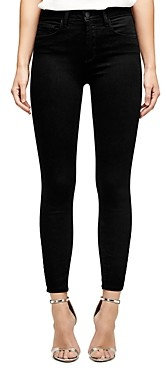 L'Agence Margot High-Rise Skinny Jeans in Midnight