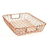 Design Ideas Cabo Letter Basket