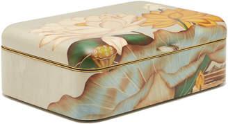 Silvia Furmanovich Floral Marquetry Jewelry Box