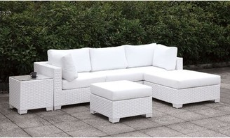 Rosecliff Heights Kuhn 6 Piece Deep Seating Group with Cushions