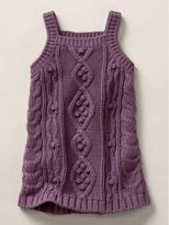 Stella McCartney cable knit tank dress