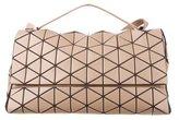 Issey Miyake Geometric Leather Satchel