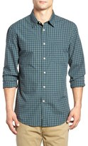 Dockers Fitted Washed Print Woven Shirt