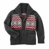 Osh Kosh OshKosh Fair Isle Shawl Collar Cardigan