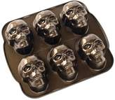 Nordicware Cast Aluminum Haunted Skull Cakelet Pan