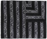 Moschino striped scarf