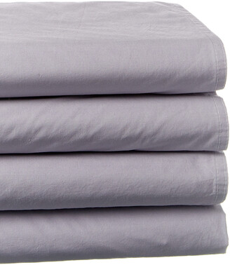 Boho Bed Petite Hem Softly Washed Sheet Set