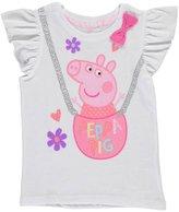 """Peppa Pig Little Girls' Toddler """"Basket of Cute"""" T-Shirt"""