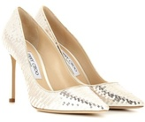 Jimmy Choo Romy 100 Sequin And Satin Pumps