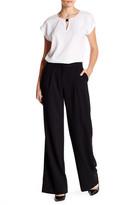 Ellen Tracy Wide Leg Pleated Trouser