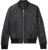 Ami Shell Bomber Jacket - Black