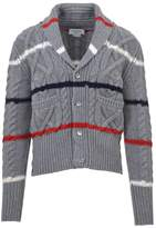 Thom Browne Cable-knit Cardigan