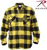 Rothco Men's Extra Heavy Weight Brawny Flannel Shirt -, White