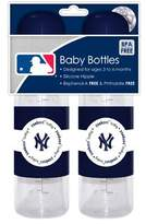 Baby Fanatic 2-Pack of Baby Bottles - New York Yankees