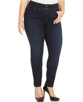 Style and Co. Plus Size Tummy-Control Skinny Jeans, Created for Macy's