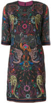 Paul Smith printed shift dress