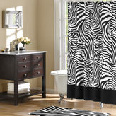 JCPenney JCP Zebra Microfiber Shower Curtain