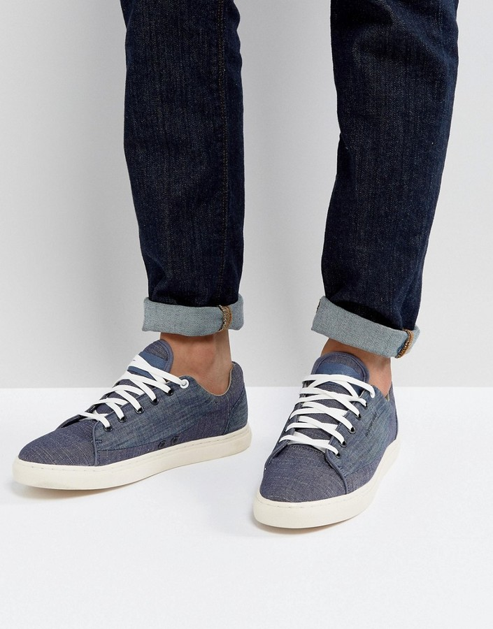 G Star G-Star Thec Chambray Sneakers