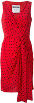 Moschino polka-dot shift dress - women - Silk - 40