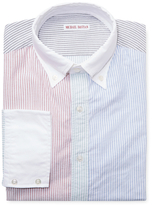 Michael Bastian Multi Stripe Spread Collar Dress Shirt