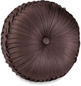Bed Bath & Beyond J. Queen New YorkTM Luxembourg Tufted Round Throw Pillow in Mink