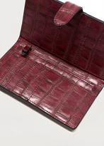 Violeta BY MANGO Animal skin effect wallet