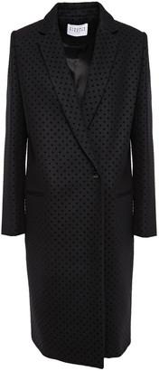 Claudie Pierlot Flocked Wool-blend Felt Coat