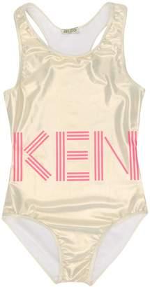 Kenzo TEEN metallic swimsuit
