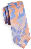 Sondergaard Camo-Printed Silk Tie