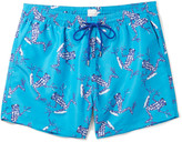 Paul Smith - Slim-fit Mid-length Frog-print Swim Shorts
