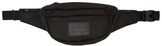 Yohji Yamamoto Black Logo Patch Waist Bag