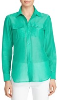Lauren Ralph Lauren Lightweight Button-Down Shirt