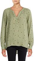 G.H. Bass & Co. Long Sleeve Bees Shirt
