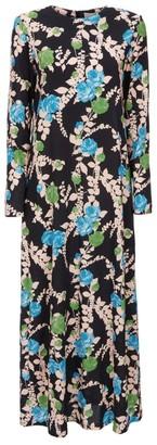 La DoubleJ Floral Swing Maxi Dress
