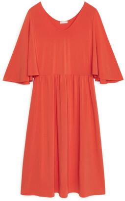 Arket Batwing Jersey Dress