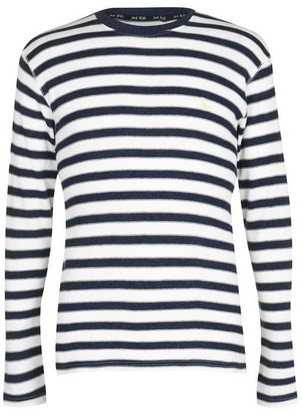 Jack Wills Stannington Waffle Long Sleeve T-Shirt
