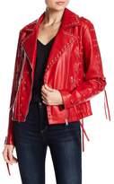 Bagatelle Lace-Up Moto Jacket
