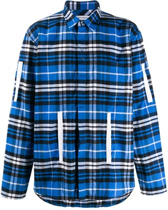 Craig Green Plaid Loose-Fit Shirt